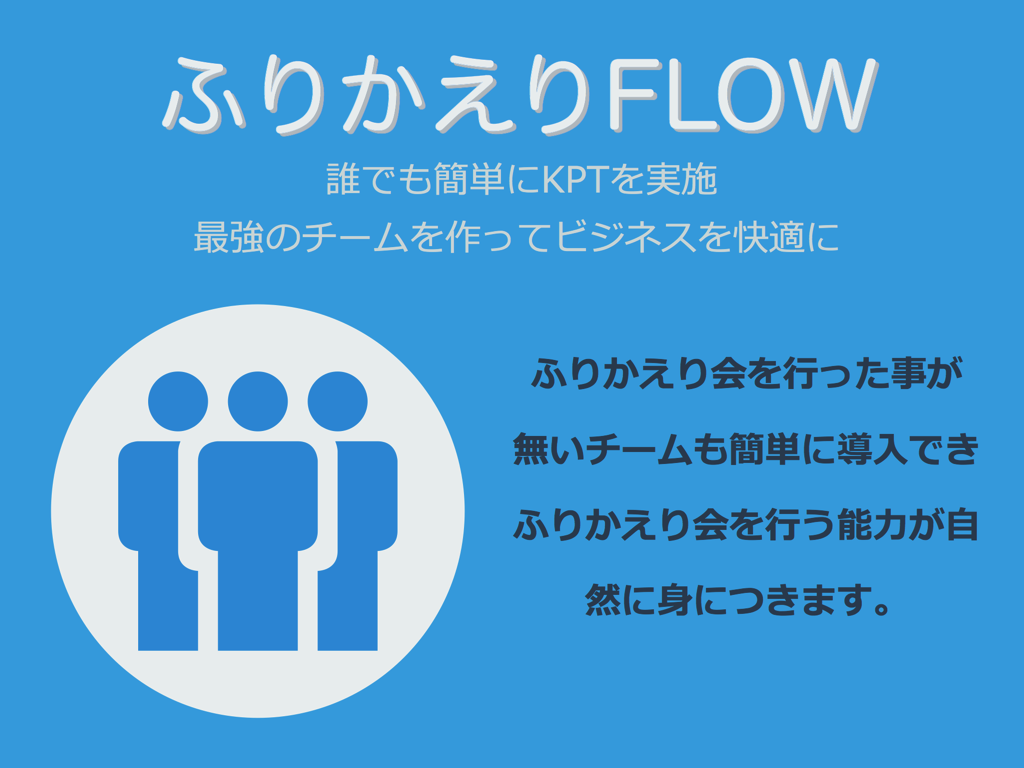 iOSアプリ - ふりかえりFLOW